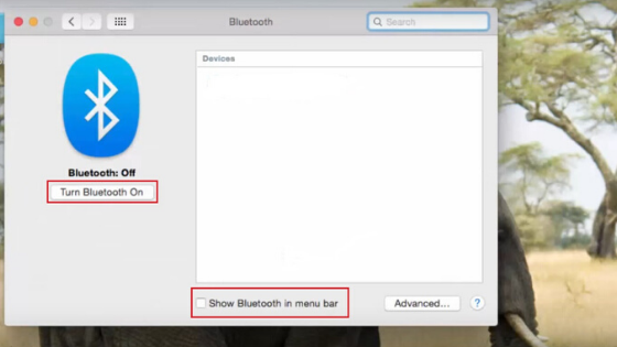 apple pc bluetooth setting